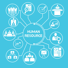 human resource network, info graphics