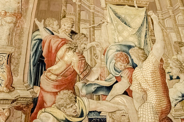 Tapestry from Vatican