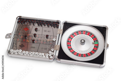 American Roulette table game sealed
