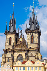 Church of Mother of God in front of Týn, Prague