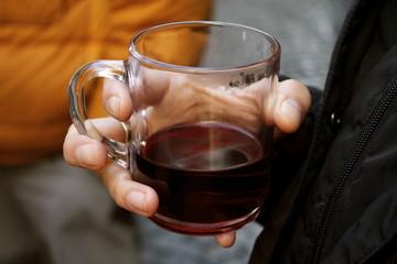 Tazza di vin brulè