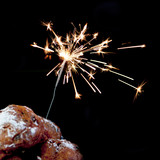 oliebollen and fireworks