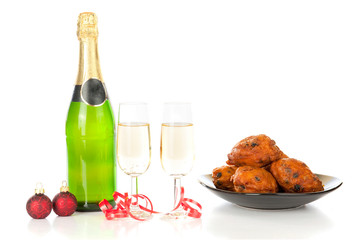 Champagne and Oliebollen