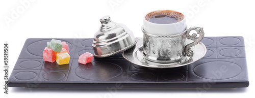 Turkish Coffee with Delight