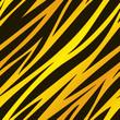 Gold Zebra Print