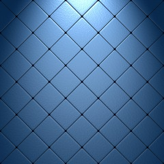 Blue granular mosaic with light effect