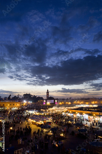 View of Marrakech