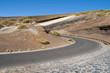 Volcanic stratification in Tenerife