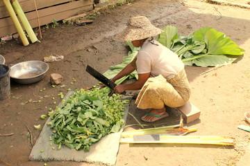 Travail de la femme au Myanmar