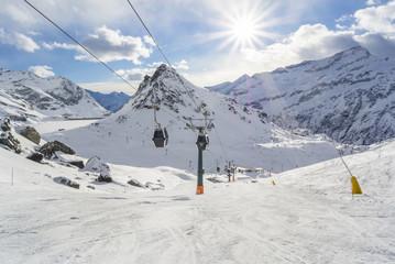 Sciare sul Monte Rosa
