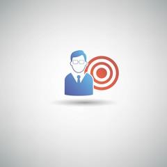 Target symbol,vector