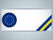 Europe Country Set of Banners