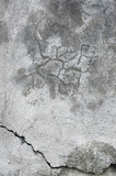 Grunge gray wall stucco texture, dark natural grey concrete