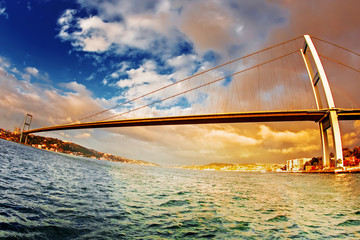 Bridge across the Bosphorus