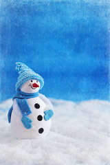 Cute snowman Christmas toy.
