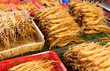 Ginseng for sell in food market