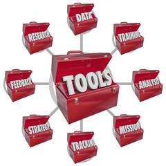 Toolbox Tools Increasing Skills Success Goal Mission