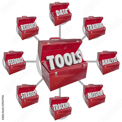 Toolbox Tools Increasing Skills Success Goal Mission
