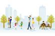 People in Urban park - 59529170