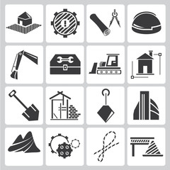 construction management icons
