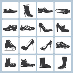 shoes icons