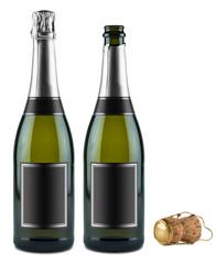 champagne bottle set