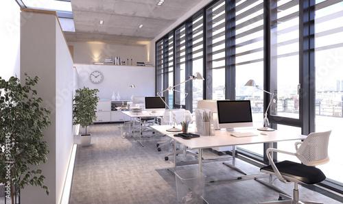Leinwandbild Motiv Modernes Büro -  modern Office