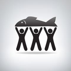 Fisherman label