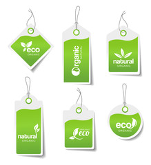 Green Labels - Stickers
