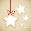 Etiquettes en forme de Etoile (Noël joyeuses fêtes joyeux)