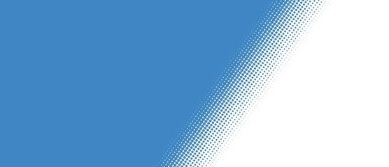 Blaue Fläche mit weichem Übergang - Querformat