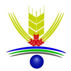 векторный значок пшеница