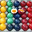 bunt gefärbte eier