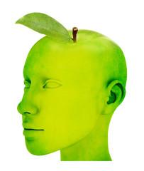 Der Apfelkopf