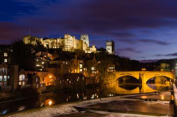 Durham City at night