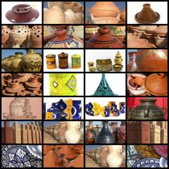 la poterie au Maroc