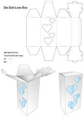 Die doll love box