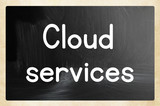 cloud services concept