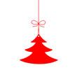 Etiquette en forme de Sapin de Noël (joyeuses fêtes joyeux)