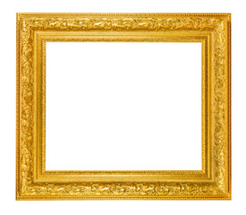 Gold photo frame