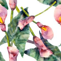 Callas seamless pattern