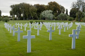 American war cemetery in Nettuno