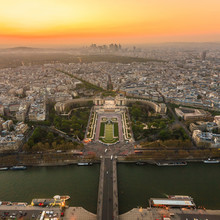 Paris en vue de dessus