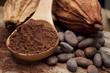 Leinwandbild Motiv cocoa
