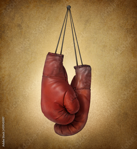 Boxing Gloves Grunge