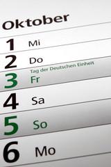 Tag der Deutschen Einheit
