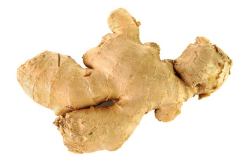 Raw ginger root