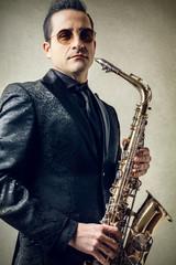 Classy Sax Player