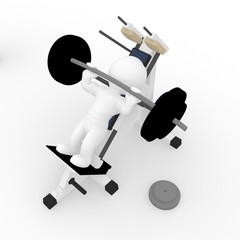 Workout Training Hantelbank