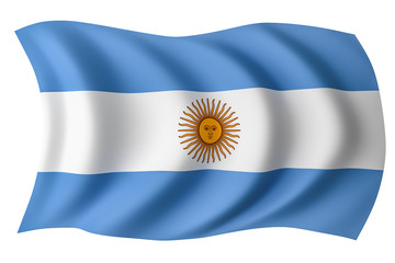 Argentina flag - Argentinian flag